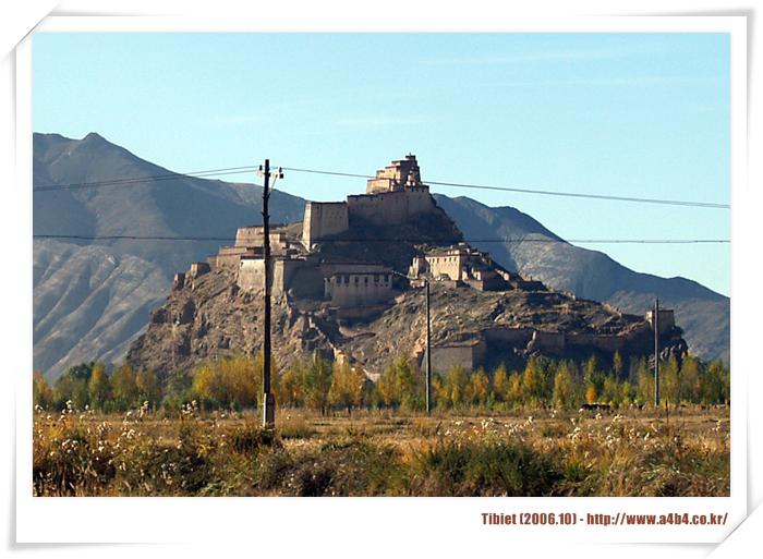 [암드록쵸] 간체로 가는 '우정공로' '티벳의 농촌풍경' '암드록쵸'