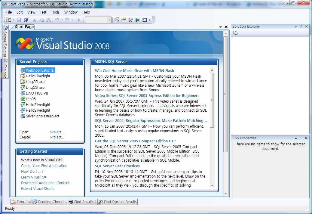 download Visual Studio Web Application Project Template Download on