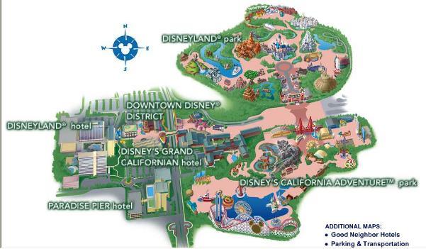 캘리포니아 디즈니랜드!