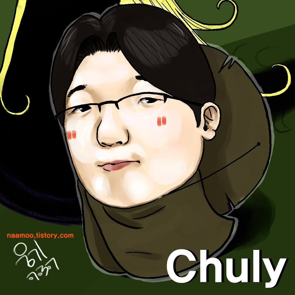 Chuly 2.0 with glasses