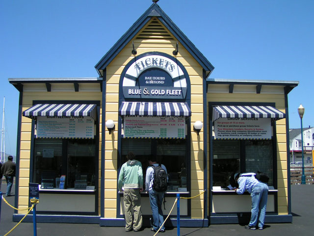 Pier 39 - Blue & Gold Fleet Ticket House