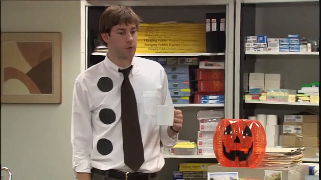 Jim as 3-hole Punch Jim