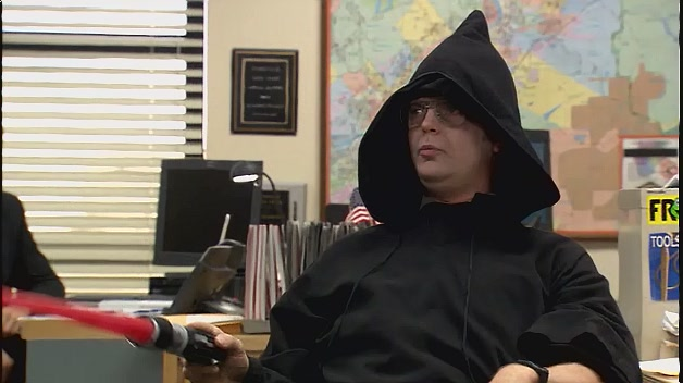 Dwight as Sith Lord