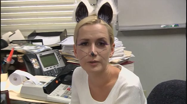 Angela as White Cat