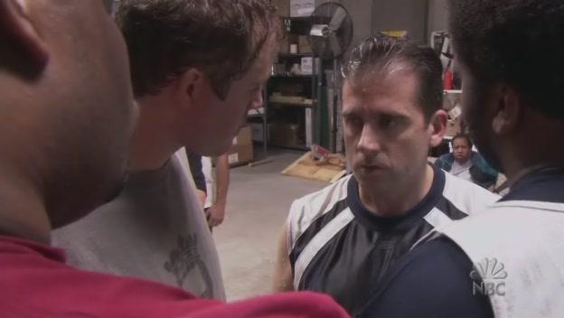 작전 짜는 마이클