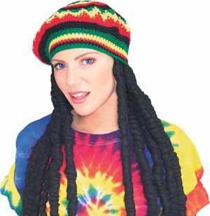 genuine Rastafarian wig
