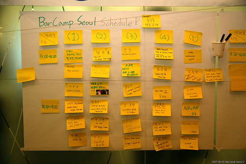 Barcamp in Seoul 中