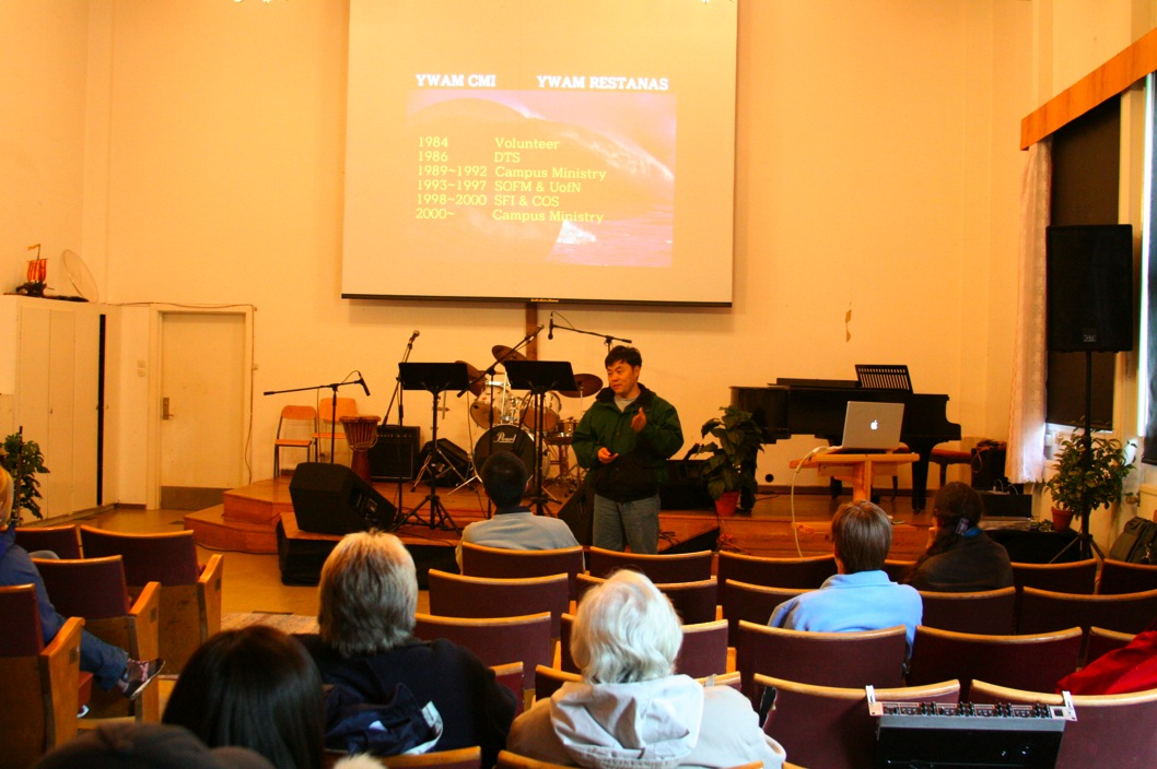 CMI Presentaion @ YWAM Restanas Staff Meeting,2006년 5월