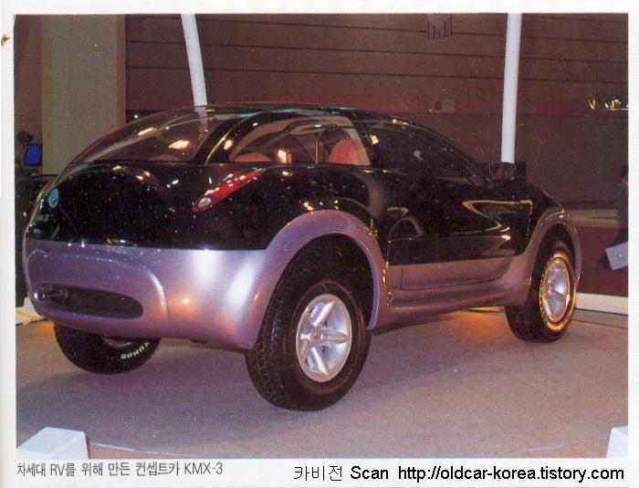 Kia KMX-3 concept  rear
