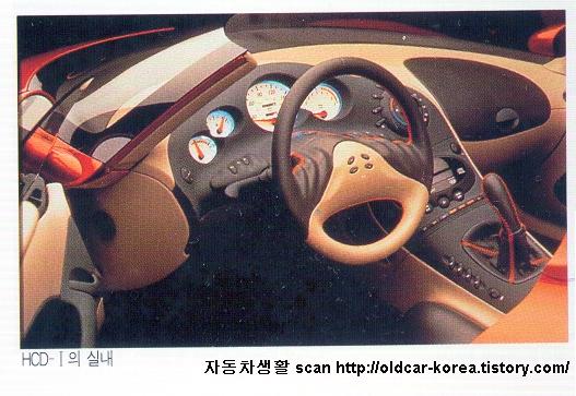 Hyundai HCD-1 concept  interior