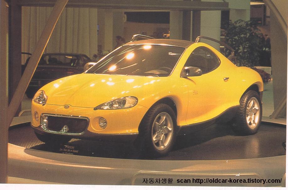Hyundai HCD-3 Gila concept