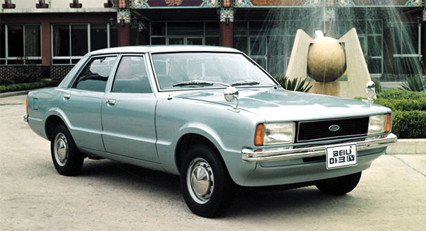 Hyundai Ford cortina mark IV