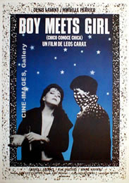 """boy meets girl movie 1984 """"i'm a filmmaker,"""" denis levant's alex declares in boy meets girl, leos carax's striking 1984 debut featurealex then adds that he hasn't made any movies, but he's busied himself by coming up with titles for movies he could make."""